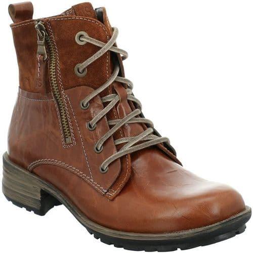 Josef Seibel Sandra 91 Ladies Ankle Boots Brown